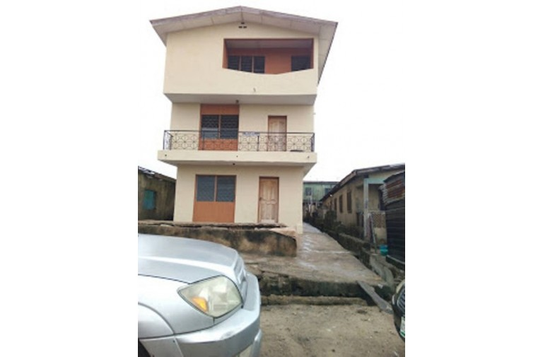 A 2 Story Building of 6 units, 2 bedroom flat for sale in Alaba, LAgos